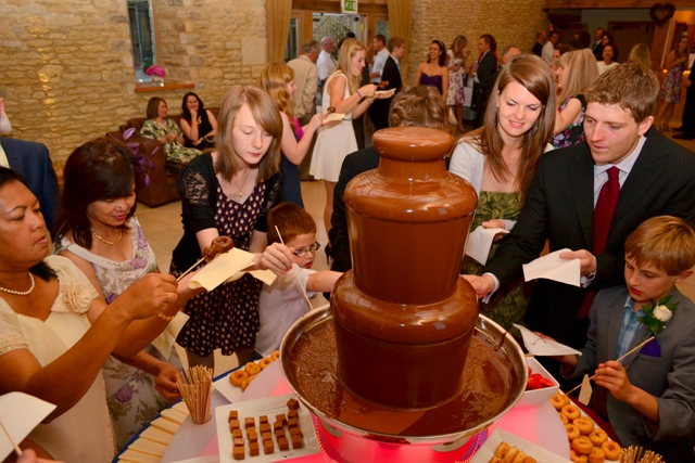 WEDDING CHOCOLATE FOUNTAIN HIRE CHELTENHAM